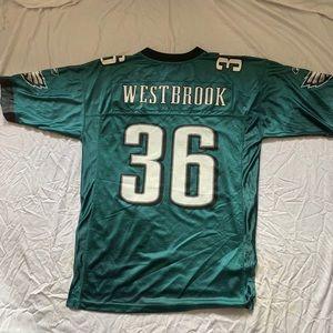 VTG Brian Westbrook NFL EAGLES JERSEY L